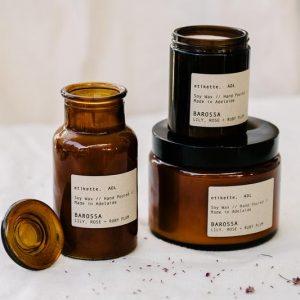 Etikette-candle