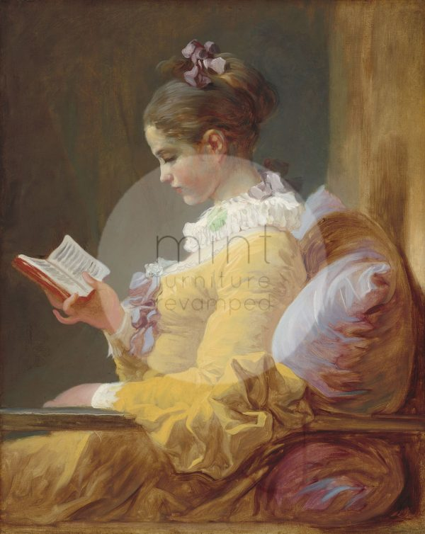 young-girl-reading-decoupage