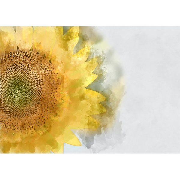 yellow sunflower decoupage paper